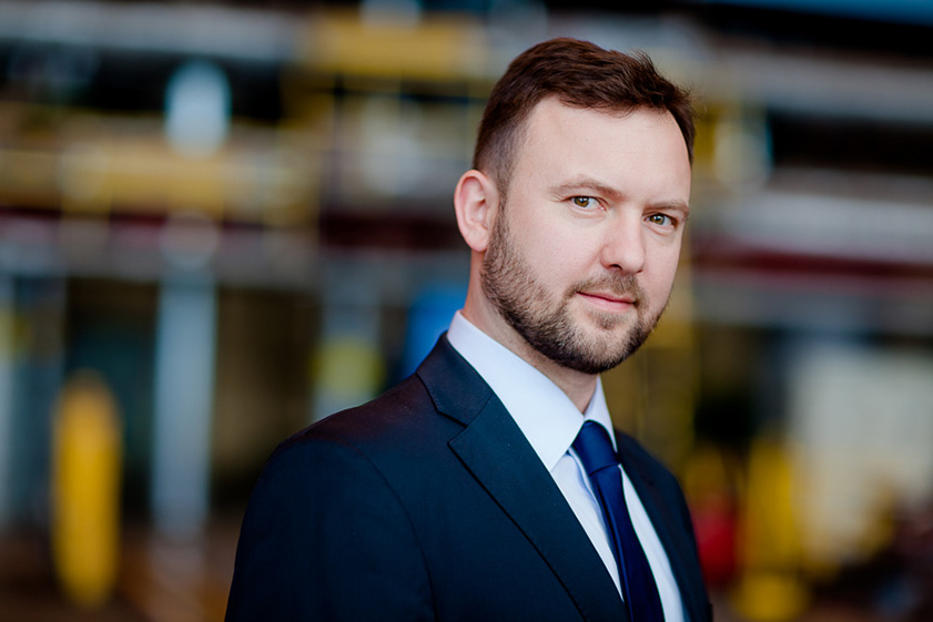 Jacek Chodkowski, Member of the Board at PGNiG Termika - Corporate Photography in Warsaw