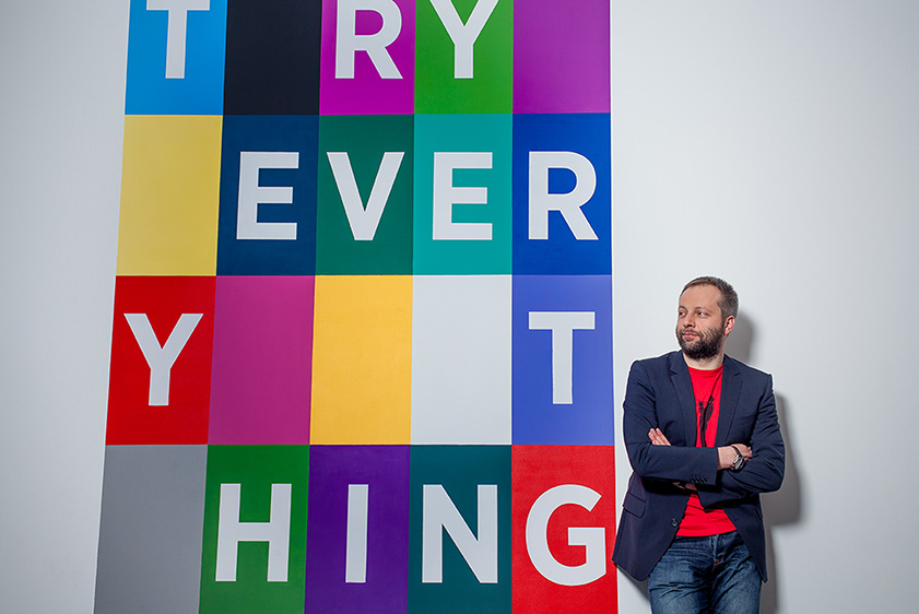 Michał Kazimierczak, CEO of Young & Rubicam Group Poland - Top business photographer in Warsaw