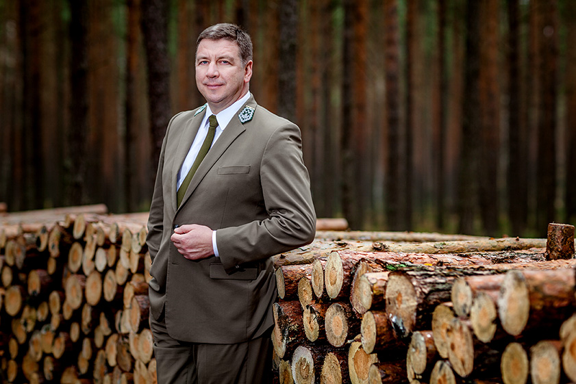 Adam Wasiak, General Director of State Forests - Top quality offer of business leaders photography