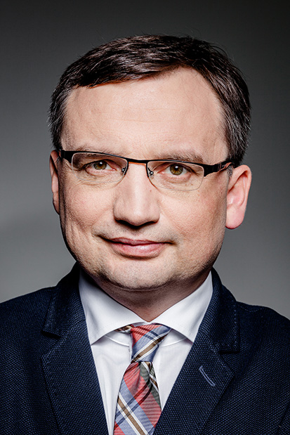 Zbigniew Ziobro, Minister of Justice, member of the European Parliament.